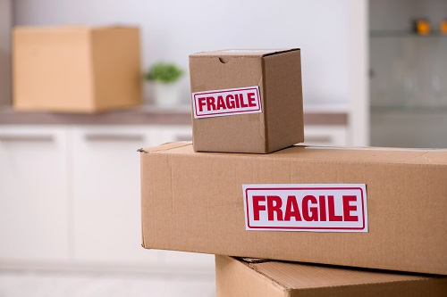 label the boxes before moving